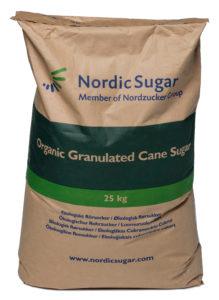 Ekologiskt socker 25 kg