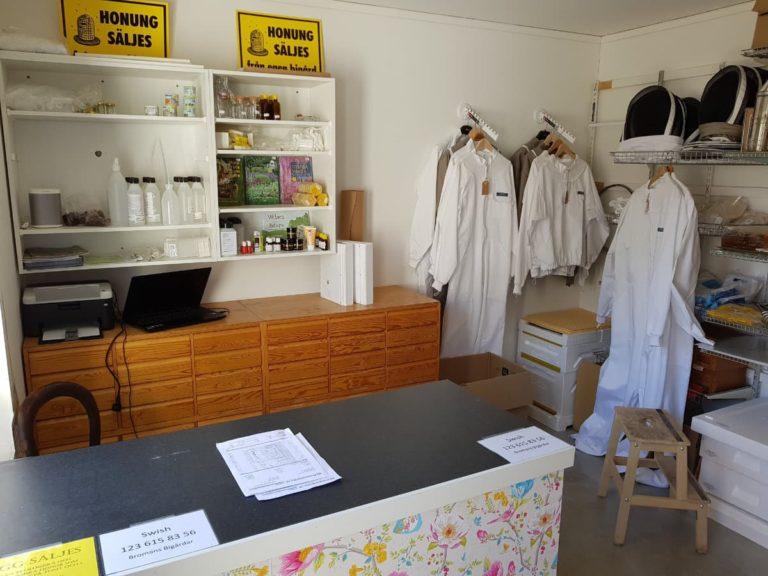 Bild i butiken
